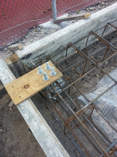 Steel Building Foundations Part 1