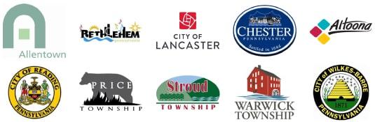 pennsylvania county and city logos