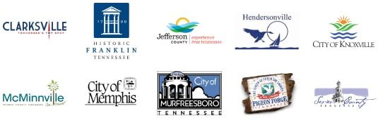 tennessee county and city logos