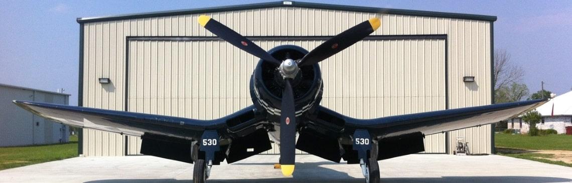 utah steel airplane hangar