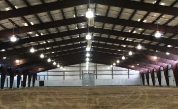 steel riding arenas