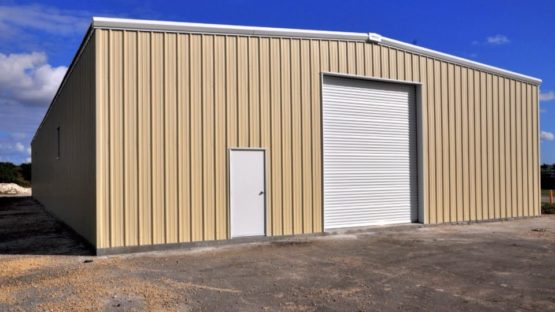 commercial steel warehouse
