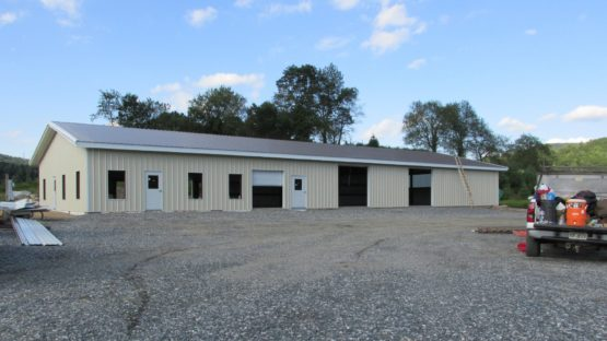 custom metal garage shop